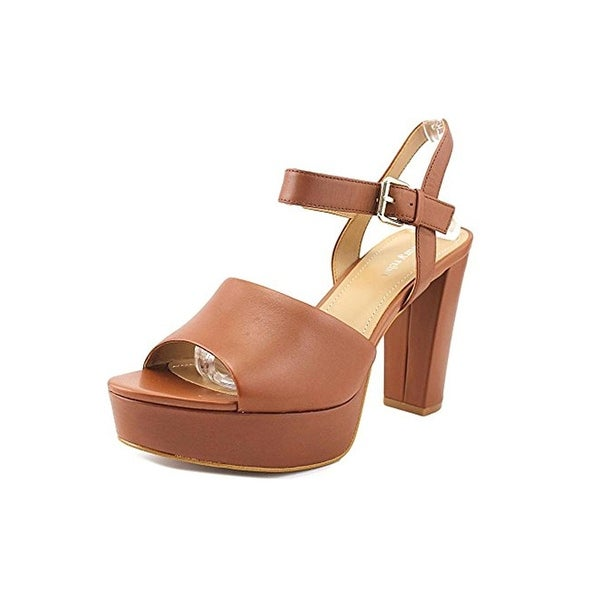 Luxury Rebel Womens Emilia Platform Heels Slingback Open Toe