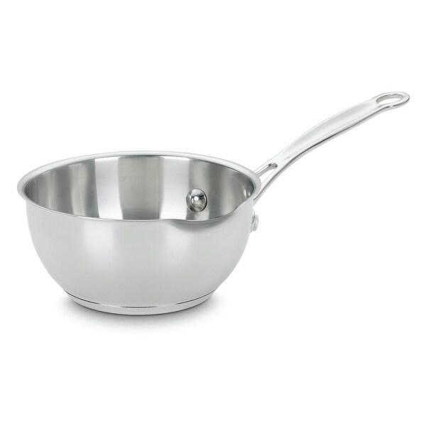 Cuisinart 735-160P Chef's Classic Pour Saucepan,1 Quart, Stainless Steel