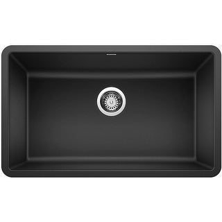 "Blanco 442533  Precis 30"" Undermount Single Basin Composite Kitchen Sink"