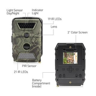 OutbackCam: Wireless Trail Camera with 1080p Full