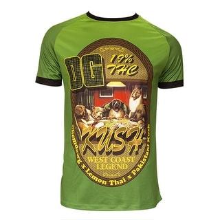 Retro Image Men's OG Kush Performance Short Sleeve Tee Shirt - og kush