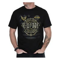 Harley-Davidson Men's American Legend Crew-Neck Short Sleeve T-Shirt, Black