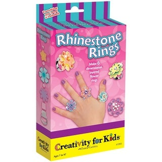 Rhinestone Rings Kit-
