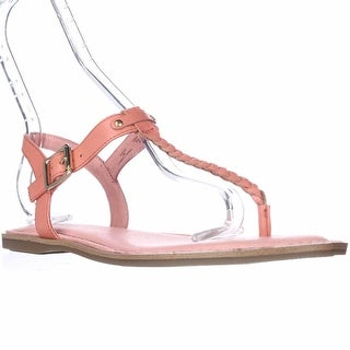 Sperry Top-Sider Virginia T-Strap Ankle Strap Sandals, Coral