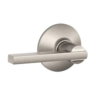 Schlage F10-LAT Latitude Reversible Passage Door Leverset (More options available)