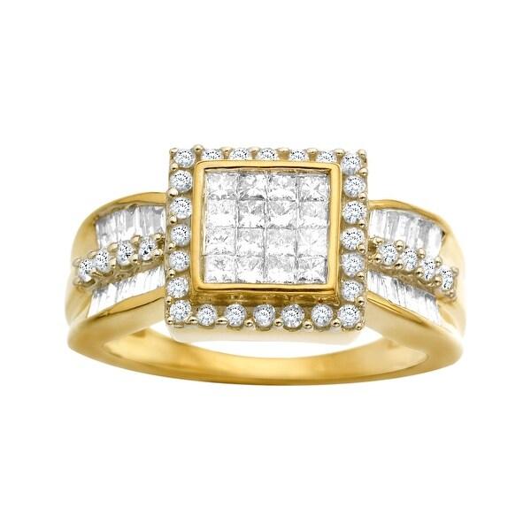 1 ct Diamond Ring in 14K Gold