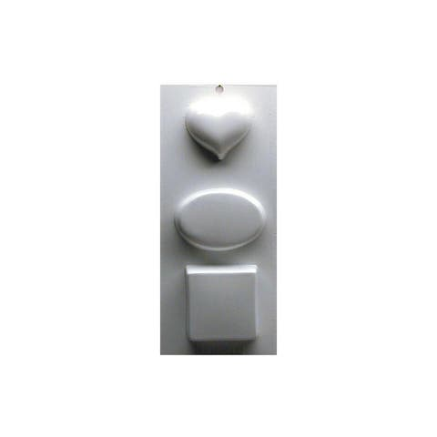 Yaley Soapsations Plastic Mold Basic Shapes