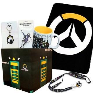 Overwatch Gift Box Bundle with Loot Box & Overwatch Fleece Blanket, Mug & More - multi