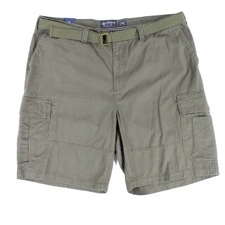 American Rag Mens Belted Relaxed Core Cargo Shorts