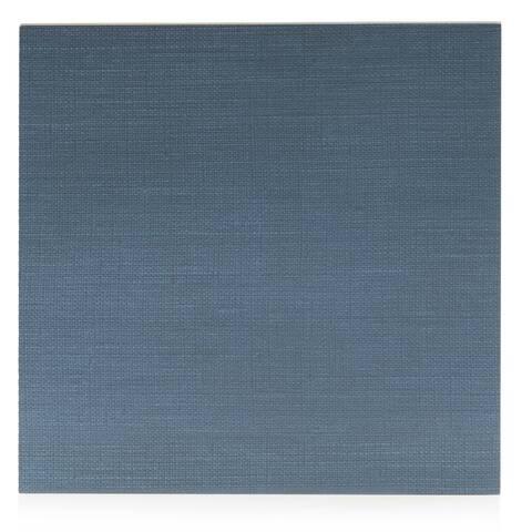 8x8 Level Blue fabric look porc. tile (6.9 Sq. Ft./ 16 pc box)