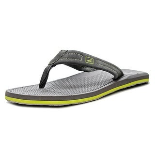 Sperry Top Sider Sharktooth Thong Men Open Toe Leather Thong Sandal