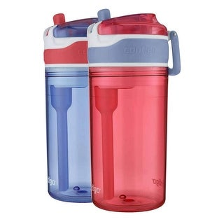Contigo Kids 2-in-1 Snack Hero Tumbler Water Bottle or Snack Container (2 Pack) - small