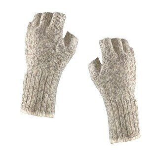 Fox River Mid Weight Ragg Fingerless Gloves - Brown Tweed (3 options available)