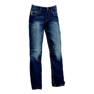 Cinch Western Denim Jeans Boys Kids Sawyer Slim Med MB16441001