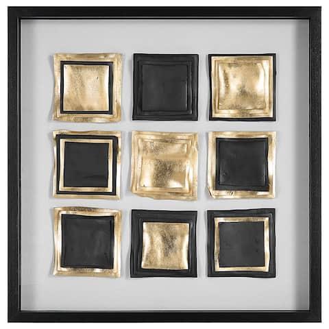 "Uttermost Fair and Square Modern Shadow Box - 31.5"" H x 31.5"" W"