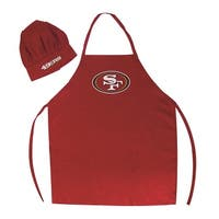 NFL San Francisco 49ers Apron and Chef Hat