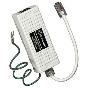 Black Box SP512A-R3 Black Box 1-Port In-Line Surge Suppressor - Network