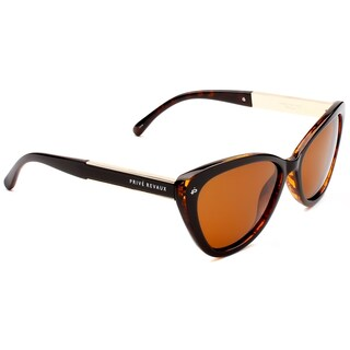 PRIVÉ REVAUX ICON Collection The Hepburn Handcrafted Designer Polarized Cat-Eye Sunglasses