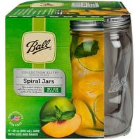 Ball Elite Spiral Wide Mouth Jar