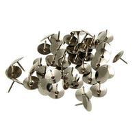 Unique Bargains 70 Pcs Home/Office Metal Board Map Push Pins Thumbtacks w Steel Point