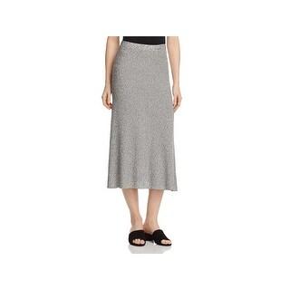 Eileen Fisher Womens A-Line Skirt Textured Woven