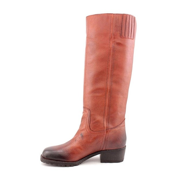 Lucky Brand Womens ALEID Leather Almond Toe Mid-Calf Fashion Boots - 5.5