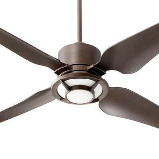"""Quorum International 82524 Axel 52"""" 4 Blade Indoor Ceiling Fan"""
