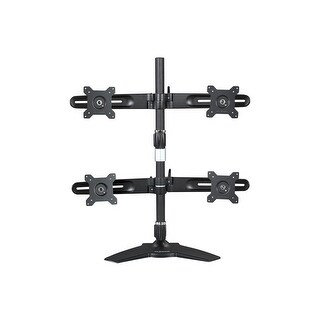 """Planar 997-5602-00 Quad Monitor Stand For 15"""" To 24"""" Lcd Monitor, Black"""