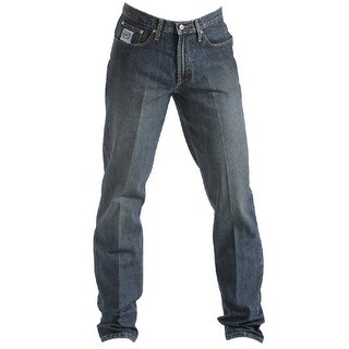 Cinch Western Denim Jeans Mens White Label Relaxed - Indigo