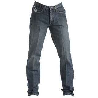 Cinch Western Denim Jeans Mens White Label Relaxed Straight