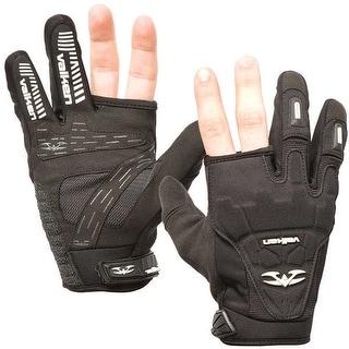 Valken Impact Two Finger Paintball Gloves - Black