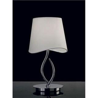 Mantra Lighting 1905 Ninette 1 Light Table Lamp