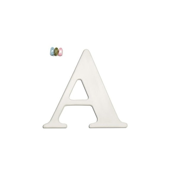 "Babies""R""Us A Letter Wall Decor Wooden Personalizable"