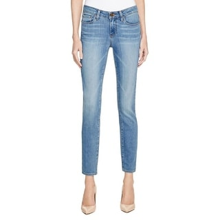 Paige Womens Verdugo Ankle Skinny Jeans Faded Denim