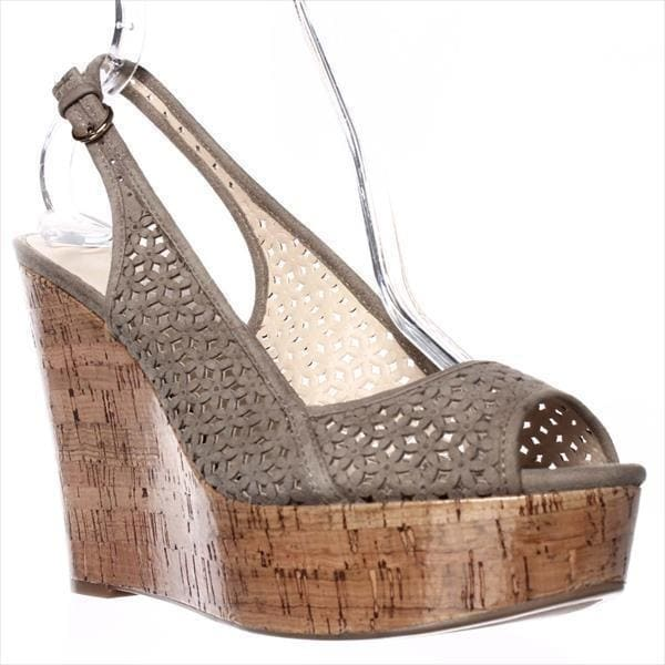 Nine West Axey Wedge Pumps, Taupe