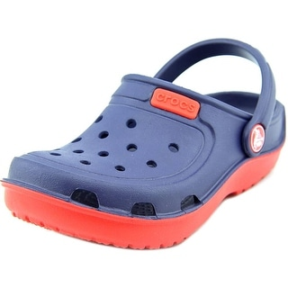 Crocs Kids Classic Round Toe Synthetic Clogs