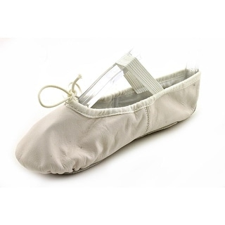 Bloch Dansoft Youth Round Toe Leather White Dance