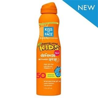 Kiss My Face Kids Defense Spray - Any Angle Air Power SPF 50 - 6 oz -