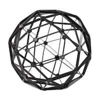 Sterling Industries 172-007 Black Structural Orb Figurine - N/A