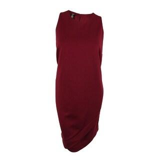 Alfani Women's Sleeveless Envelope Dress - new burgundy