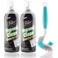 Garbage Disposal Drain Cleaner Foam with Multipurpose Brush Kit