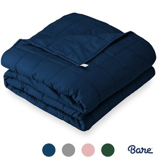 Bare Home 100% Cotton Weighted Sensory Blanket