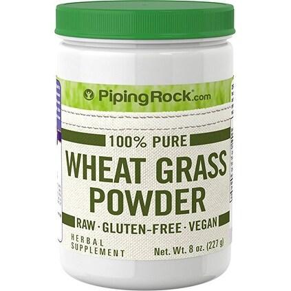 Piping Rock 8-ounce 100% Pure Wheat Grass Powder