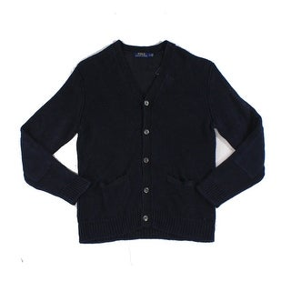 Polo Ralph Lauren NEW Blue Mens Size XL Knitted Cardigan Sweater