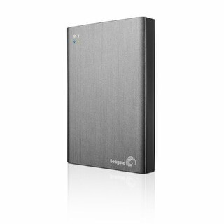 Seagate Technology QW8616G Seagate Wireless Plus 1TB Mobile Cloud Storage with Built-in WiFi Streaming