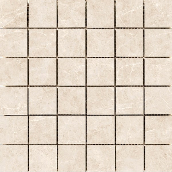 "Emser Tile F58HAVA1212MO2 Havana - 12-1/4"" x 12-1/4"" Square Backsplash Mosaic Tile - Matte Ceramic Visual"
