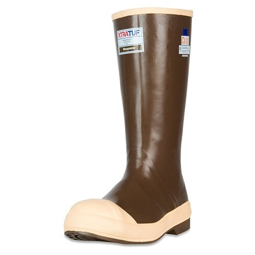 """Xtratuf Men's Legacy 15"""" Steel ToeBoots w/ Chevron Outsole & Heel - Size 4"""