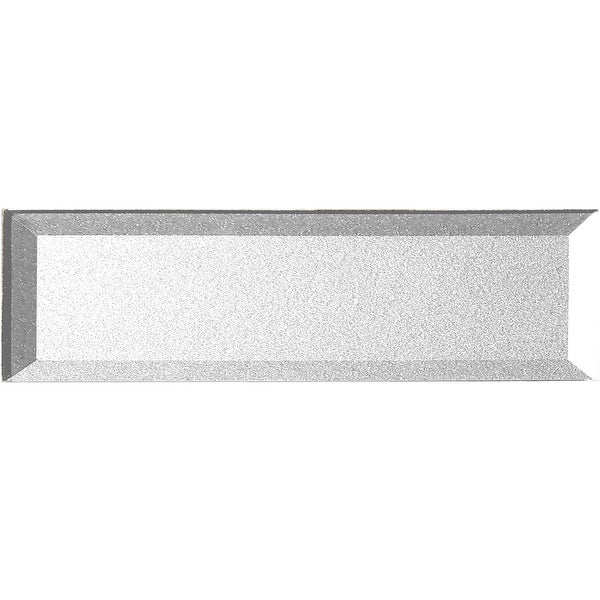 "Miseno MT-WHSFOB0416-ES Forever - 4"" x 16"" Rectangle Wall Tile - Semi-Gloss Visual - Silver"