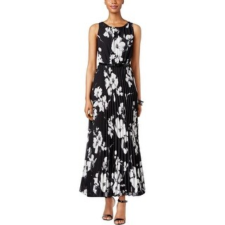 Jessica Howard Womens Petites Special Occasion Dress Chiffon Floral Print - 14P