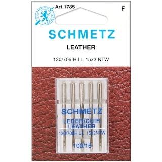 Leather Machine Needles-Size 16/100 5/Pkg - size 16/100 5/pkg
